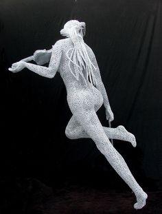 Derek Kinzett, 1966 ~ Wire sculptor