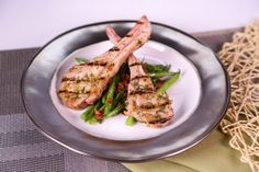 the chew | Recipe | Mario Batali's Green Beans With Serrano Ham And Garlic