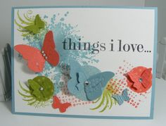 Pretty card. butterlies. Extreme Elements-SU!