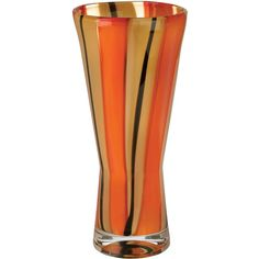 Evolution by Waterford captures the artistry of molten crystal with rich accents of vibrant color. Perfectly proportioned for displaying roses, cut flowers or f...
