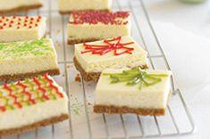 Holiday Cheesecake Presents Recipe