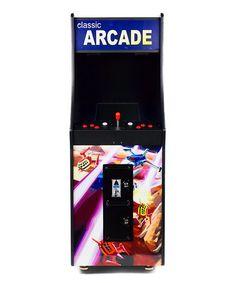 This Retro Arcade Cabinet is perfect! #zulilyfinds