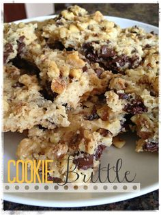 1000+ images about Cookie brittle on Pinterest | Chocolate chip cookie ...