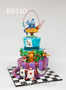 Carlo's Bakery Boy Birthday Cake, BB515