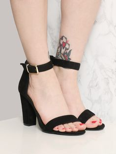 """<p>8"""" Height </p><br /> <p>4"""" Heel </p><br /> <p>Man Made Materials </p><br /> <p>Measurements taken from a size 9 </p>"""