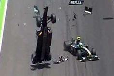 Mark Webber's crash in Valencia