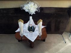 How about a white glove champagne toast!
