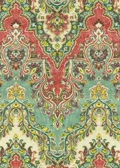 Living Room accent chair Home Decor Print Fabric- Waverly Palace Sari/Jewel at Joann.com
