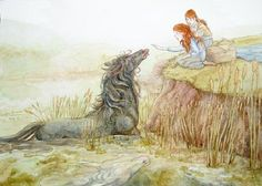 The Kelpie (Celtic) - supernatural water horse that haunt the rivers and lochs of Scotland and Ireland. Said to transform themselves into beautiful women to lure men into their traps, so they can drown and eat them.