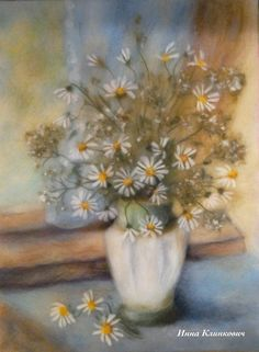 Шерстяные картины Марины Аскеровой