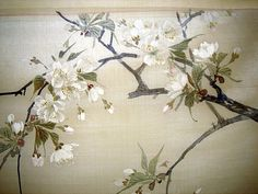 japanese silk prints | ... about Collection Genuine Antique Japanese Silk Paintings Signed ca1890