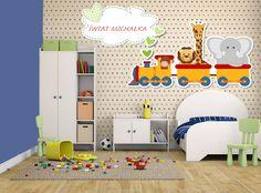 Tapeta dziecięca w pokoju małego człowieka