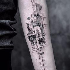 .John Monteiro. (@_johnmonteiro) • Instagram photos and videos Life Tattoos, Cool Tattoos, Tatoos, Lobo Tribal, Wolf Tattoos Men, Samurai Artwork, Skin Art, Black And Grey Tattoos, Tattoo Designs Men