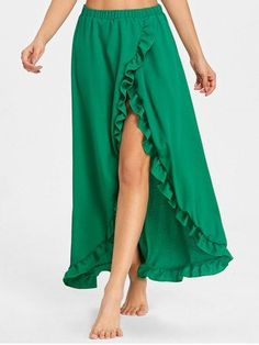 GET $50 NOW   Join RoseGal: Get YOUR $50 NOW!https://www.rosegal.com/skirts/ruffle-floor-length-tulip-skirt-1994109.html?seid=4514413rg1994109