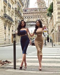 "LAURA BADURA  on Instagram: ""Slaying in Paris with @klaudiabadura wearing @wantmylook  Photo by @tiborgolob ❤️"""