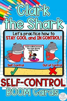 Middle School Counselor, Elementary School Counseling, Group Counseling, Counseling Activities, Elementary Schools, Clark The Shark, Coping Skills Activities, Behavior Support, Guidance Lessons