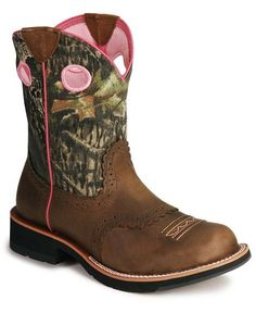 ariat fatbaby camo cowgirl boots...one of the most comfortable pair of boots I own