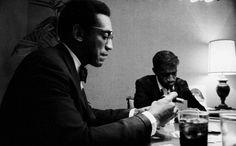 Bill Cosby with Sammy Davis Jr.