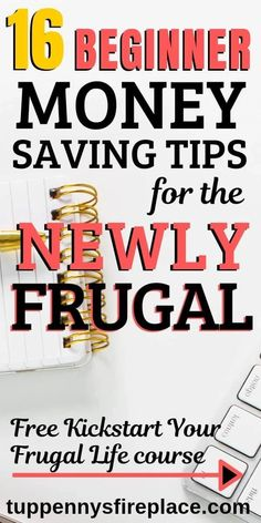 The best saving money tips when you are newly frugal. Simple ideas on how to get frugal at home with food, meal planning, recipes. Thrifty living tips to help you start living frugally today. Frugal living for beginners, families and mom. Best Money Saving Tips, Ways To Save Money, Money Tips, Saving Money, Money Budget, Frugal Living Tips, Frugal Tips, Saving For College, Budget Planer