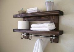 8 Authentic Hacks: Floating Shelves With Pictures Night Stands white floating shelves bathroom.Floating Shelves With Tv Black white floating shelves bathroom. Floating Shelves With Lights, Floating Shelves Bedroom, Floating Corner Shelves, Rustic Floating Shelves, Bathroom Shelves Over Toilet, Bathroom Shelf Decor, Rustic Bathroom Shelves, Wood Shelves, Wall Decor
