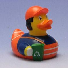 Duckshop - der Shop für Badeenten und Quietscheentchen - Badeente Müllmann