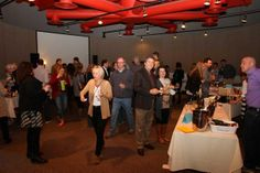 People enjoying the Roberson Museum Science Center's 14th annual Wine & Food Fest. Photo Credits - Press Connects