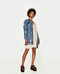 ZARA - WOMAN - DRESS WITH LACE-UP FRONT