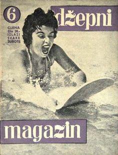 Gina Lollobrigida - dzepni Magazine [Yugoslavia (Serbia and Montenegro)] (1956)
