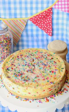 July 30th is National Cheesecake Day and what better way for this sugar cookie lover to celebrate than with a sugar cookie cheesecake!   ...