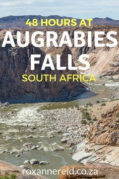 What to do to make the most of your trip when you only have 48 hours in Augrabies National Park in the Northern Cape. Think game drives by day and night, hikes and seeing some of the spectacular river gorge views. #SouthAfrica #travel #waterfalls