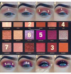 pink purple eyeshadow look. Makeup tutorial for pink purple eyeshadow look.for pink purple eyeshadow look. Makeup tutorial for pink purple eyeshadow look. Contour Makeup, Mac Makeup, Eyeshadow Makeup, Makeup Tips, Beauty Makeup, Makeup Ideas, Makeup Geek, Makeup Hacks, Natural Eye Makeup