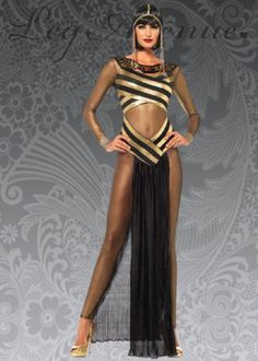 Womens-Black-Egyptian-Goddess-Cleopatra-Costume