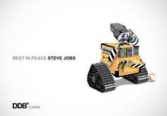 Steve Jobs Homage Ads | Ads of the World™