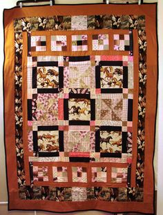 Pictures of Awareness and Comfort Quilts: Healing Horses Comfort Quilt