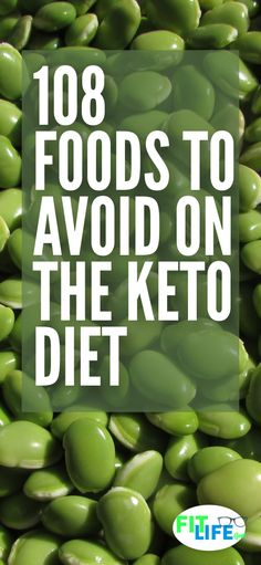 Knowing what foods to avoid on the ketogenic diet is critical to weight loss success. Check out these 108 foods that will keep you from burning fat. #keto #ketogenicdiet #diettips Workout Diet Plan, No Sugar Diet, How To Plan, Fitness Diet, Healthy, Food, Eten, Hoods, Health