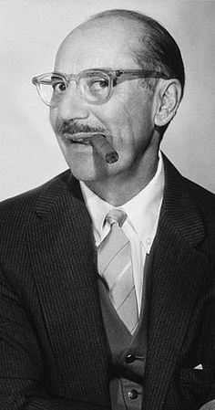 Groucho Marx, Actor: Duck Soup. The bushy-browed, cigar-smoking wise-cracker with the painted-on moustache and stooped walk was the leader of The Marx Brothers. With one-liners that were often double entendres, Groucho never cursed in any of his performances and said he never wanted to be known as a dirty comic. With a great love of music and singing (The Marx Brothers started as a singing group), one of the things Groucho was ...