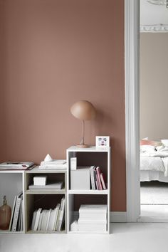Tendance Joaillerie 2017 – La Maison d& G.: New dusty shades from Jotun Lady … Room Colors, Wall Colors, House Colors, Colours, Color Walls, Blush Walls, Pink Walls, Home Design, Home Interior Design