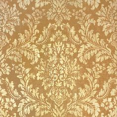 Parisian Damask #wallpaper in #mocha from the Texture Resource 2 collection. #Thibaut