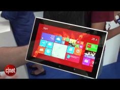 Nokia Lumia 2520 black - YouTube