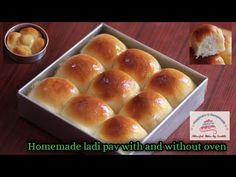#Homemadepav #Lockdownspecial #nochemicals Eggless & homemade ladi pav/two ways of baking (In Hindi) - YouTube