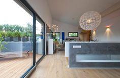 Modernes Pultdach-Haus mit Büroanbau von Kitzlinger   Haus & Bau   zuhause3.de