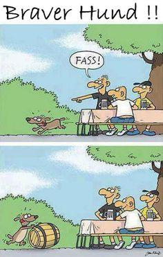 Braver Hund