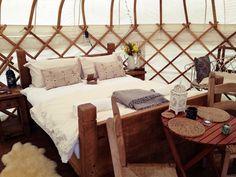 Luxury honeymoon yurt