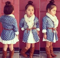 Little Girls Dresses For Fall Little girl outfit