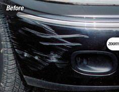 Bumper scrapes repair by www.carmedic.co.uk