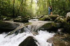 Wedding photographer based in East Tennessee serving Tennessee, The Great Smoky Mountains National Park, the U. Smoky Mountain Wedding, Smoky Mountain National Park, East Tennessee, Destination Wedding Photographer, Waterfall, National Parks, Wedding Photography, Weddings, Outdoor