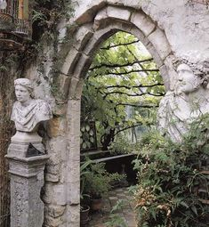 [Looks gothic and mysterious, doesn't it?] Growing with Plants: archs