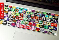 keyboard decal mac pro decals mac pro stickers decals by Tloveskin, $14.99 um seriously want this but i dont have a mac book :(