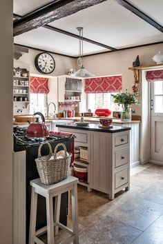 Small Space Kitchen: Style and Storage - Town & Country Living