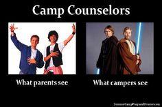 Camp Counselors... So True